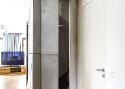 drzwi szafy z betonu architektonicznego