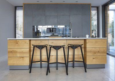 kuchnia z frontami z betonu