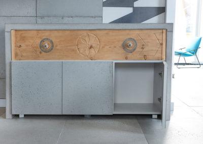 szafka z betonu
