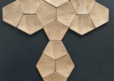 Carballo - płytki z drewna na ścianę
