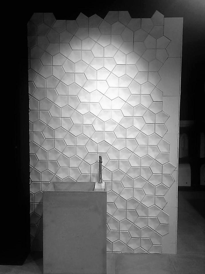 płytki betonowe 3d