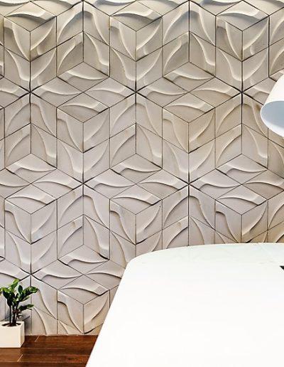 Beton architektoniczny - Płytki 3d - Tzara