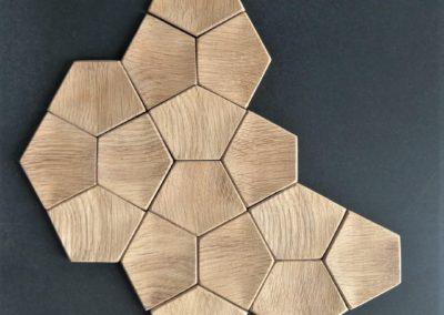Dekoracja z drewna na ścianę