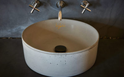 Concrete washbasins